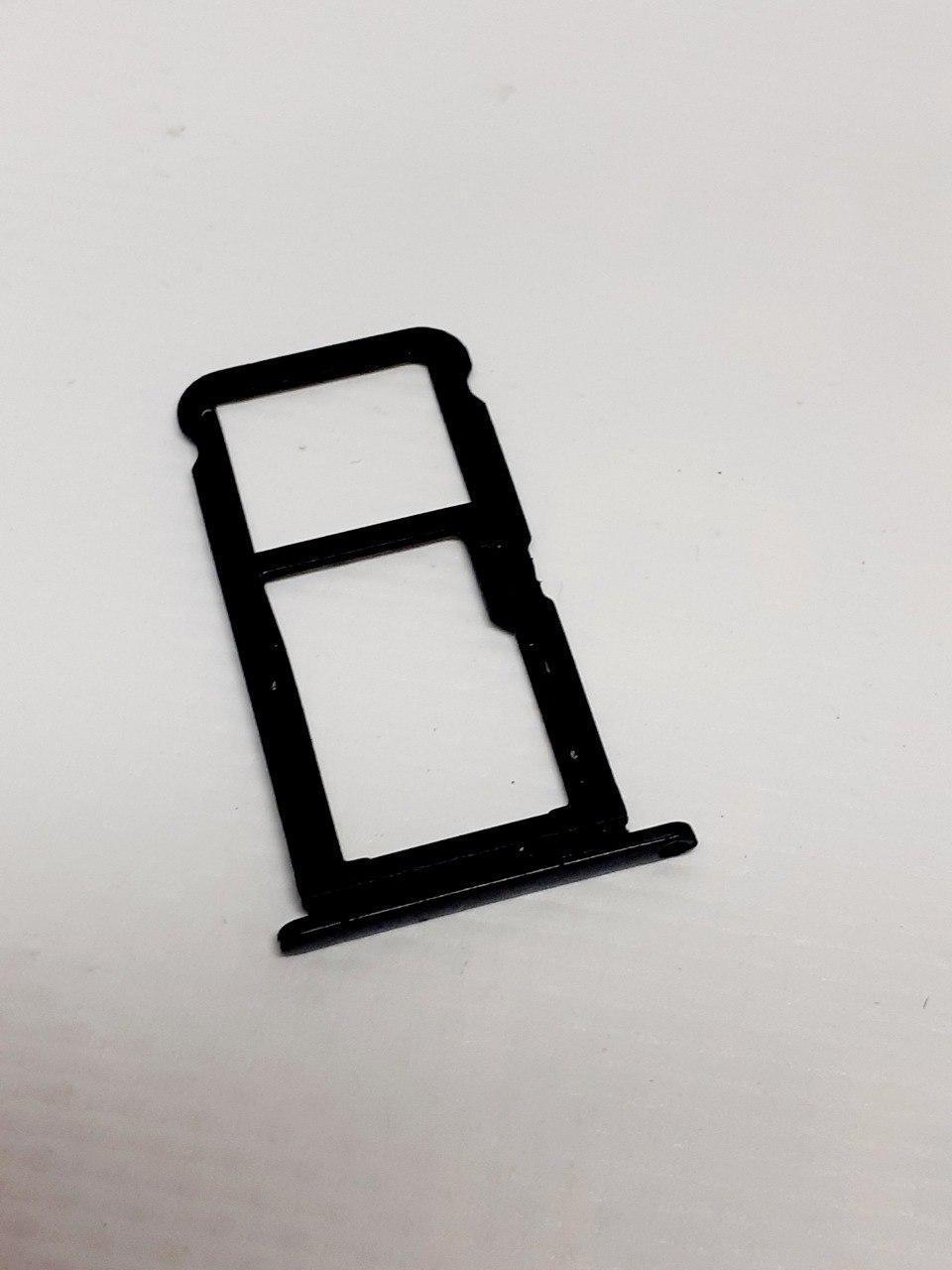 Лоток Sim-карт черный Tp-Link Neffos X9 TP913A оригинал , сервисный