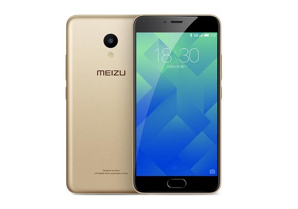 Смартфон Meizu M5 3/32Gb Gold Stock A-, фото 2