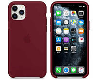 Чехол Silicone Case для iPhone 11 Pro Marsala