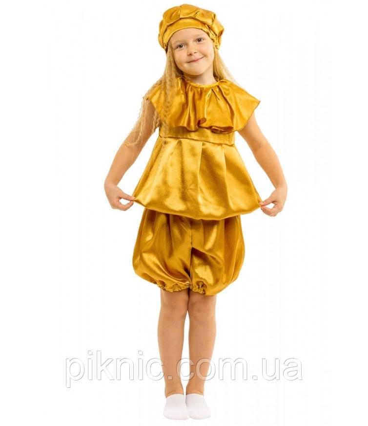 Детский костюм Картошка для детей 4,5,6,7,8 лет Карнавальный костюм Картопля для мальчиков девочек 340