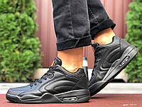 Чоловічі шкіряні кросівки чорні Stilli, фото 1