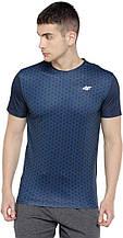 Чоловіча футболка 4F Dry L-XL синій (H4L19-TSMF003-30S) XL
