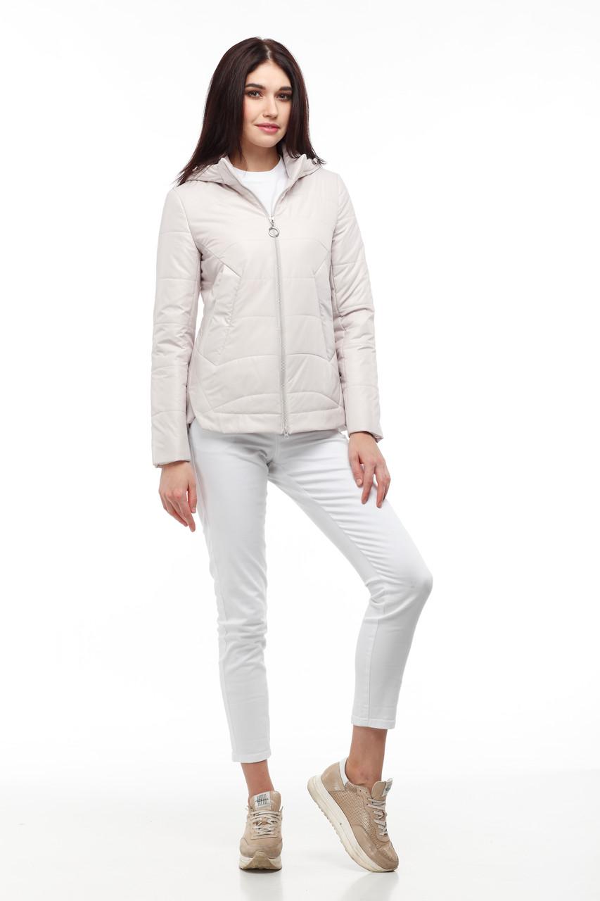 Демисезонная женская куртка ORIGA Амина 42 Розовый (02AMI-зефир)