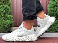 Чоловічі шкіряні кросівки білі Stilli, фото 1