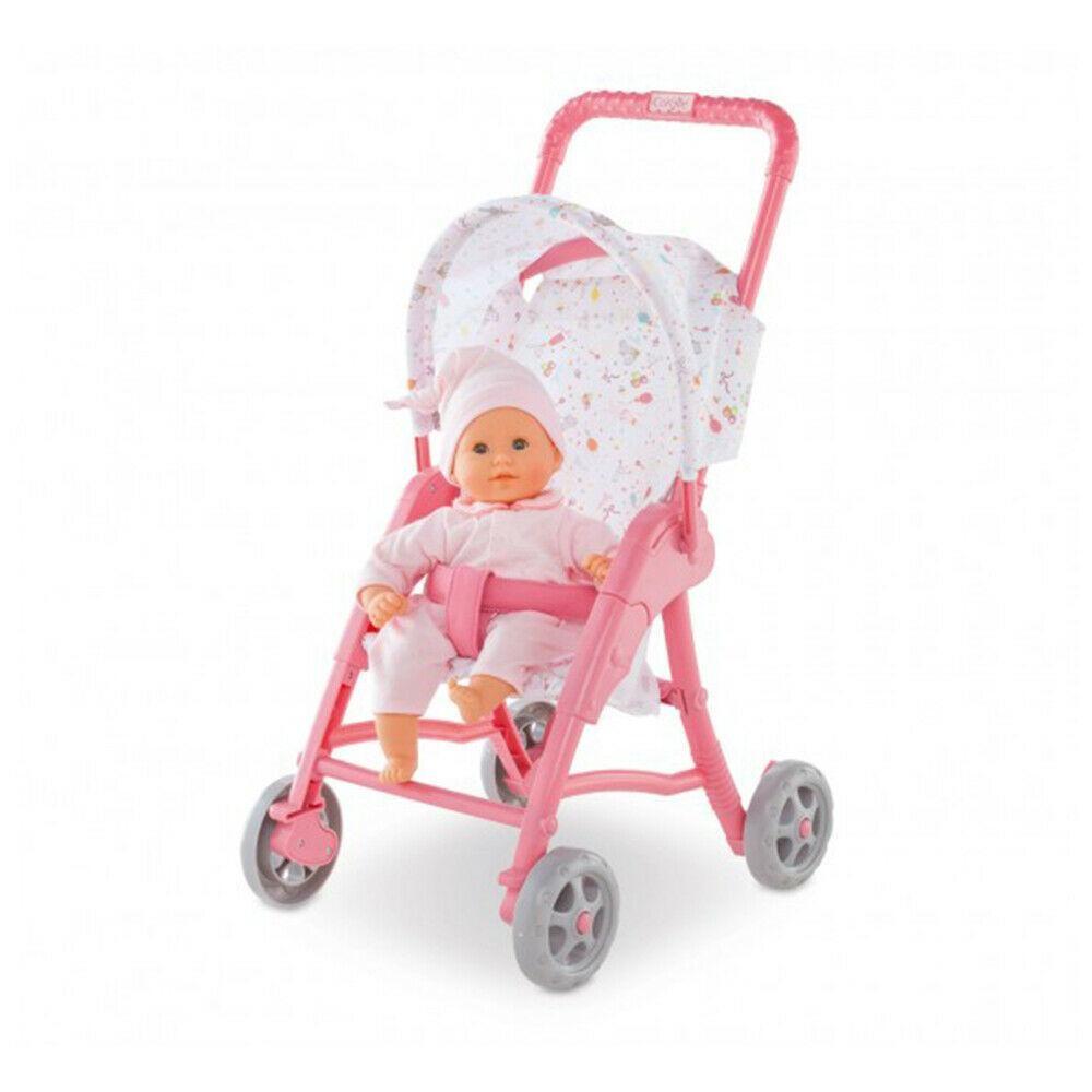 Прогулочная коляска для пупса куклы 30 см с козырьком Corolle 9000110170