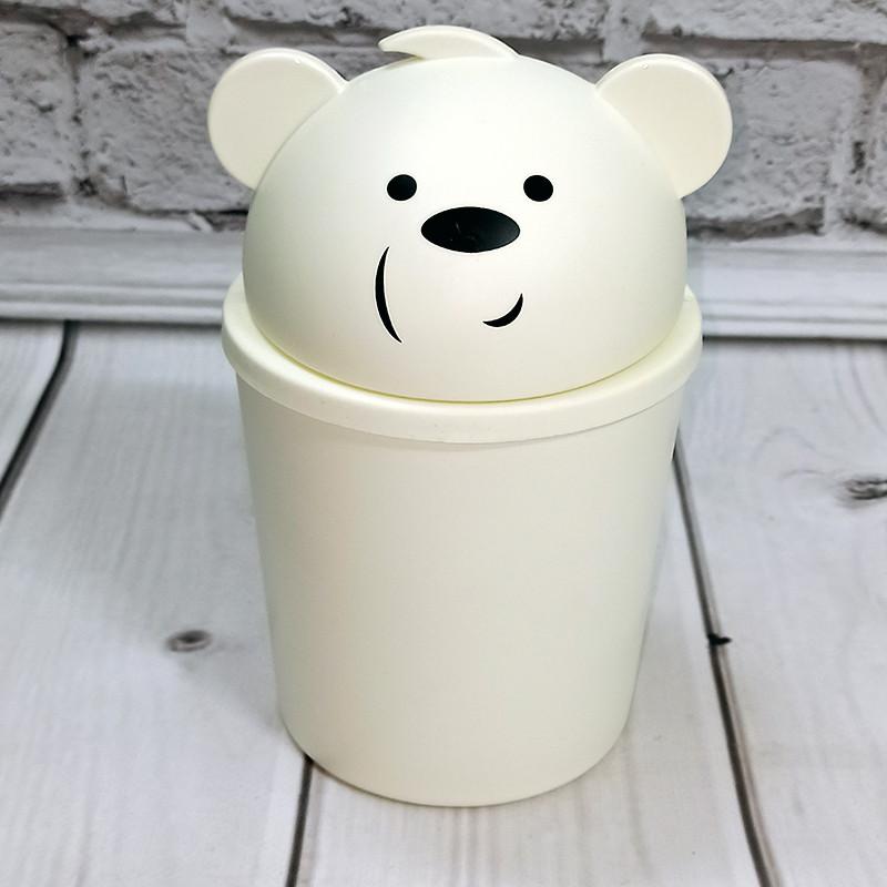 Ведерко для мусора 1100мл Панда Турция