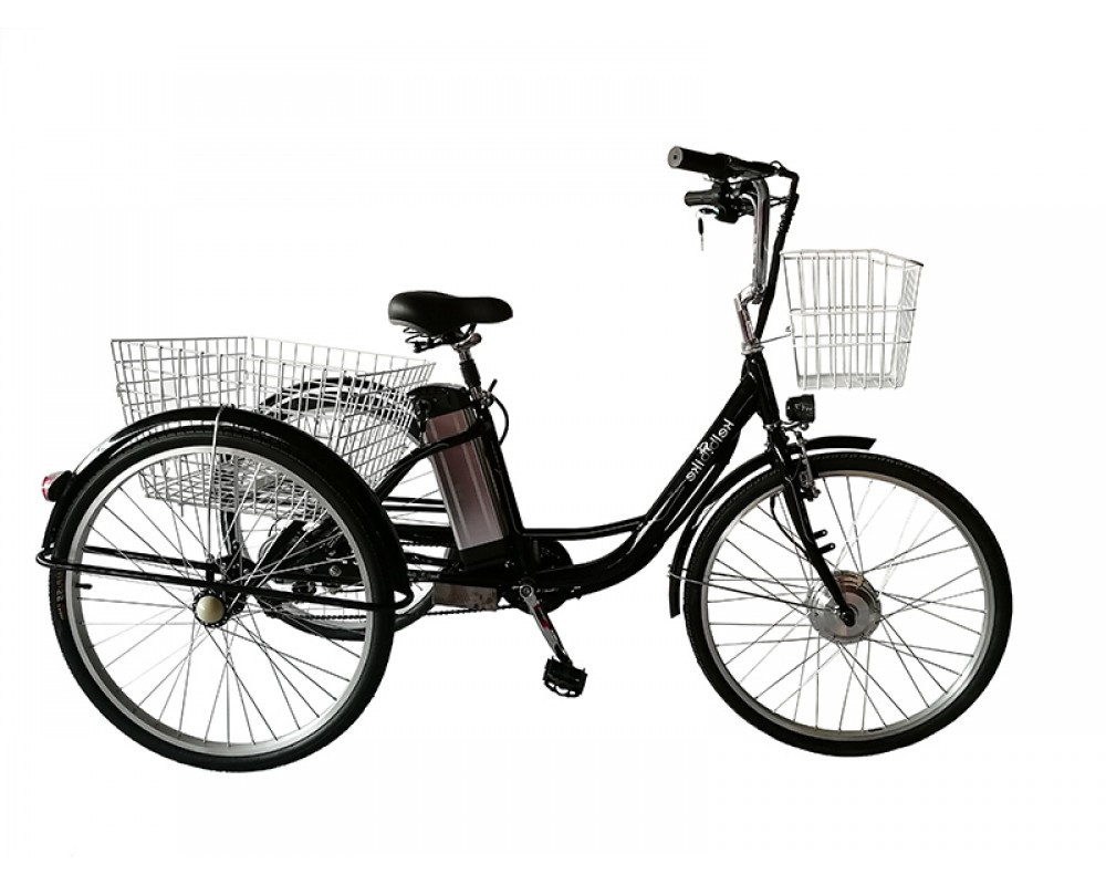 """Электровелосипед дорожный трехколесный 24"""" Kelb.Bike 350W+PAS"""