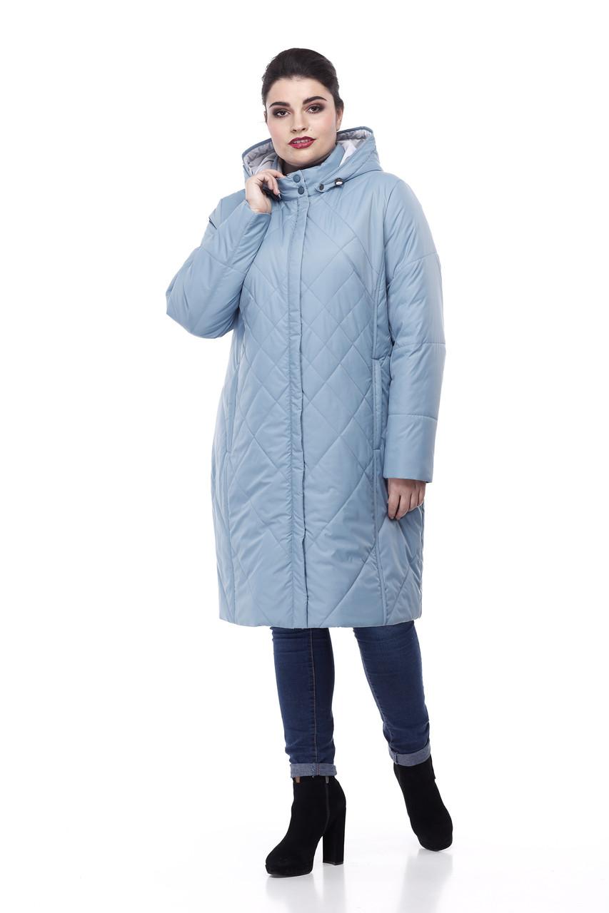 Демисезонная женская куртка ORIGA Леона 58 Морской зеленый
