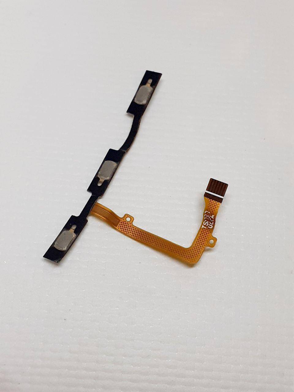 Шлейф кнопок громкости и включения ZTE blade A522 original б.у