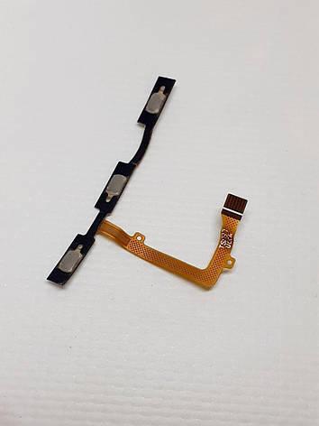 Шлейф кнопок громкости и включения ZTE blade A522 original б.у, фото 2