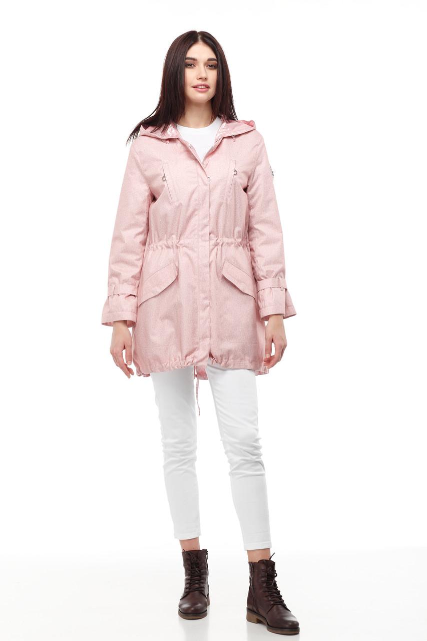 Демисезонная женская куртка ORIGA Ариана 44 Персик