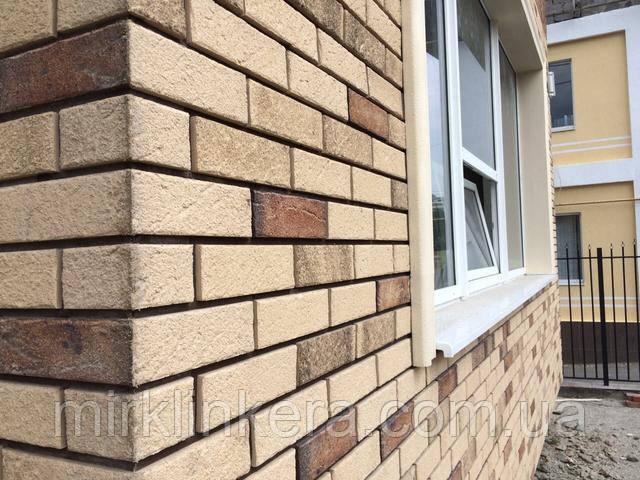 Клинкерная плитка для фасада