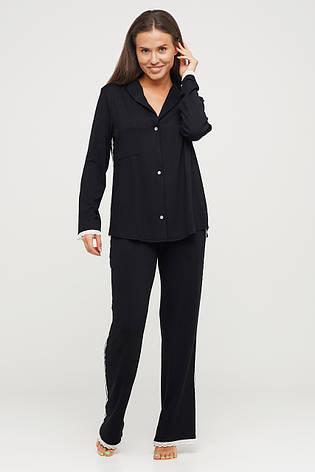 Черный женский трикотажный костюм TM Orli, фото 2