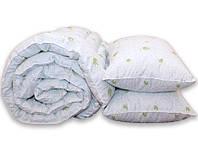 """Одеяло с лебяжего пуха  1 5 спальное+ 2 подушки 70х70 """"Aloe vera"""""""