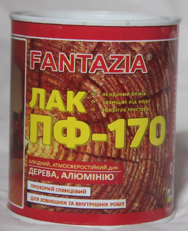 Лак ПФ-170 Fantazia 0.7 л