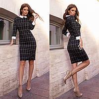 """Стильное платье мини """" Клетка """" Angelo Style, фото 1"""