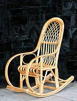 Кресло-качалка плетеное из лозы детское Наследник