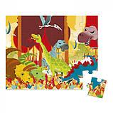 Пазл Лес, Океан, Динозавры, Janod, (24 элемента), 3+, фото 4