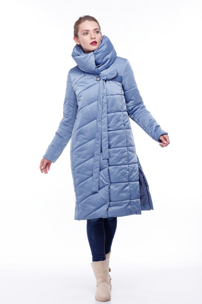 Зимняя женская куртка ORIGA Вероника 44 Темно-голубой
