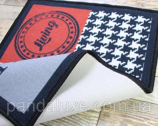 Гарний килимок для передпокою Home sweet home килим на гумовій основі 50 х 80 см, фото 3