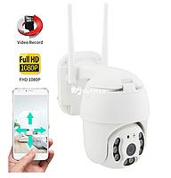 Поворотная камера видеонаблюдения Ptz IP 1080P HD 2.0MP Wifi видеокамера
