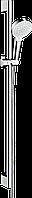 Душовий набір Hansgrohe Crometta Vario 0.65м EcoSmart 9л/хв: білий/хромований