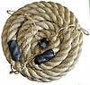 Канат для Кросфіта Crossfit Battle Rope SRP001 сизаль, фото 2