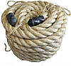 Канат для Кросфіта Crossfit Battle Rope SRP001 сизаль, фото 3