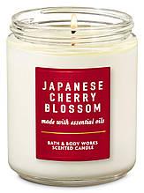 Ароматизированная свеча Japanese Cherry Blossom Bath and Body Works
