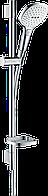 Душовий набір Hansgrohe Raindance Select E 120 білий/хром