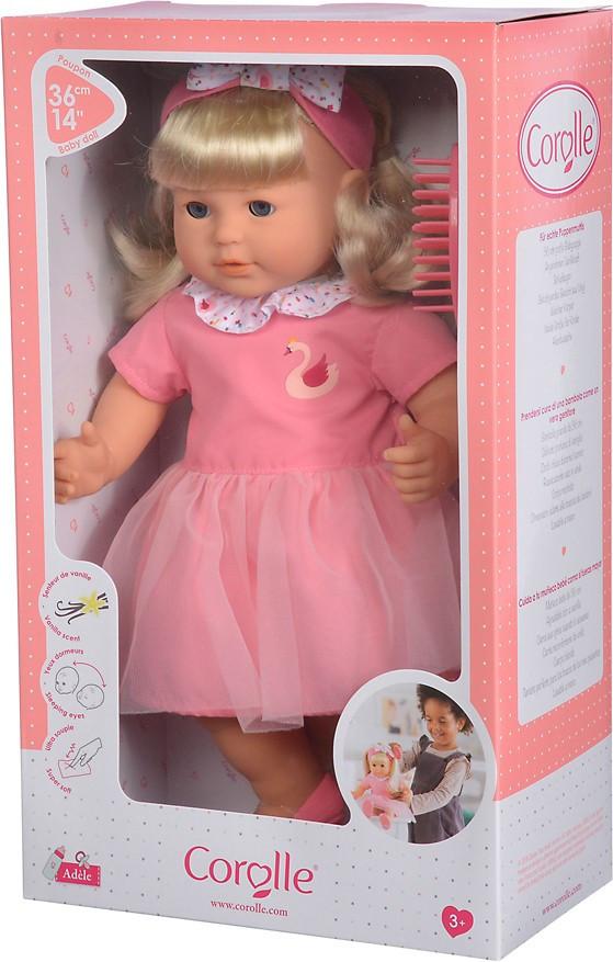 Кукла для девочки Адель с ароматом ванили со щеткой для волос 36 см Corolle 9000130210