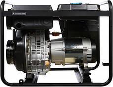 Генератор дизельный Hyundai DHY 6500L, фото 2