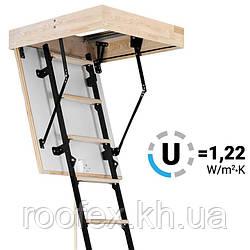 Чердачная лестница Oman Mini Termo 80x80