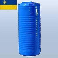 Емкость для воды 200 литров пластиковая. Пластиковые бочки вертикальные двухслойные и однослойные. 200 л.