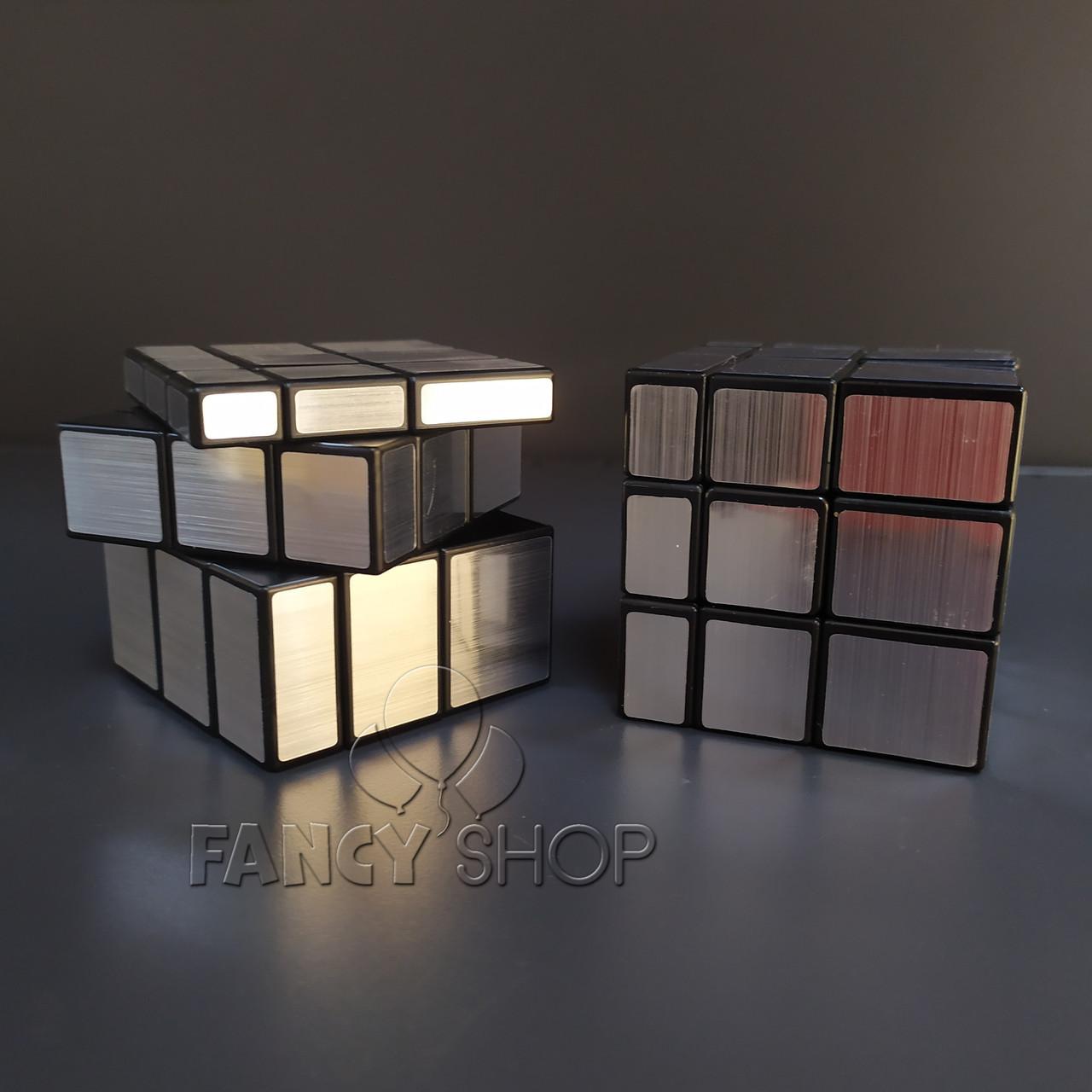 """Кубик Рубіка """"3*3 дзеркальний"""", срібний, Головоломка """"Mirror"""""""