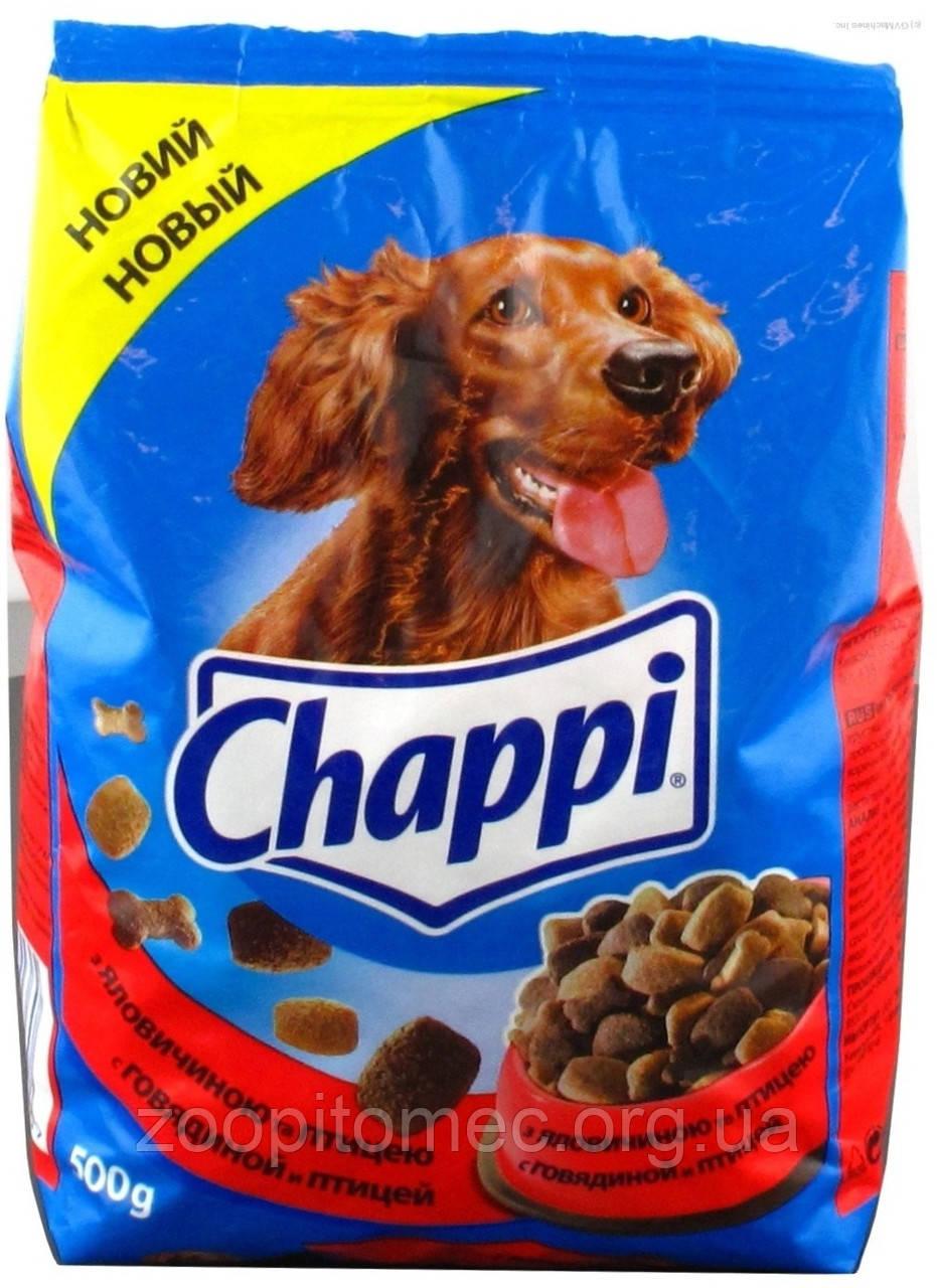 Корм для собак chappi