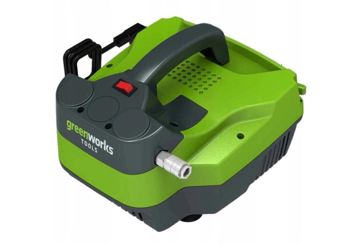 Безмасляний компресор Greenworks GWACTL 1100W