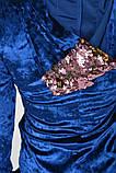 Платье 103R022 цвет Электрик, фото 5