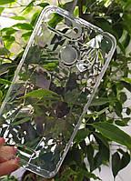 Силиконовый чехол Ромбы 3D Diamond для Xiaomi Redmi 6, Прозрачный