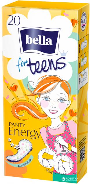 Ежедневные гигиенические прокладки Bella for Teens: Ultra Energy 20 шт
