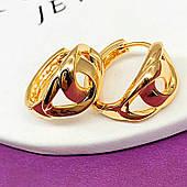 Серьги кольцами из медицинского золота, ювелирная бижутерия Xuping