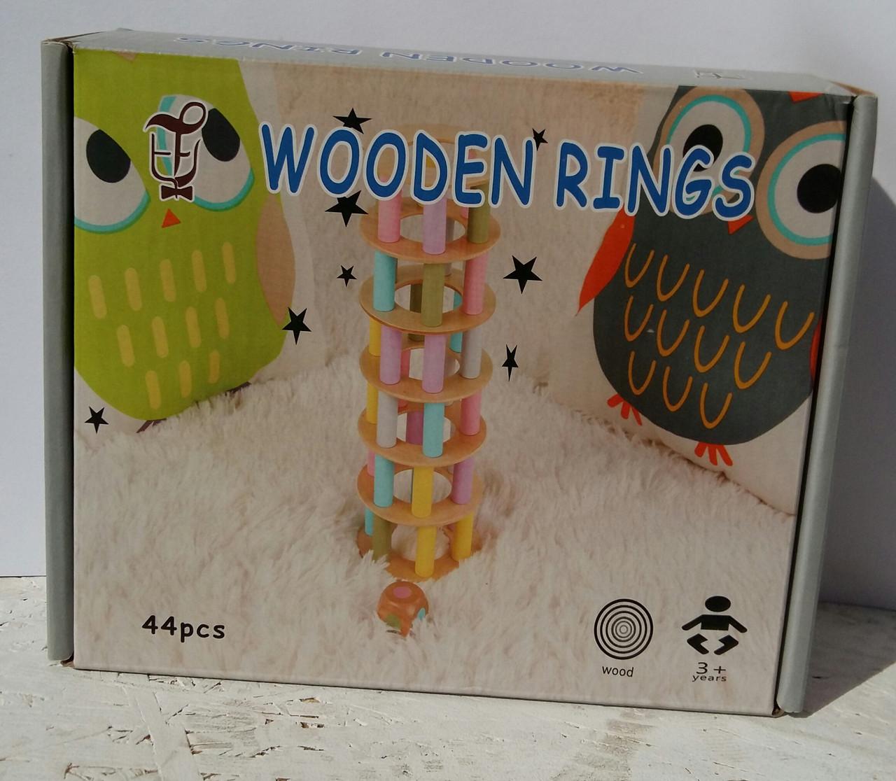 Деревянная игрушка Игра MD 1224 башня