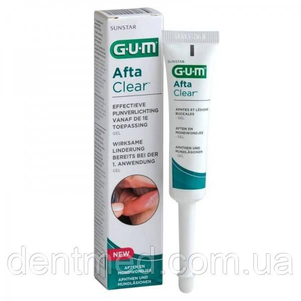 Гель от стоматита Sunstar GUM Afta Clear, 10 мл