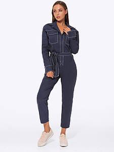 Комбинезон женский джинсовый AniTi 405, синий