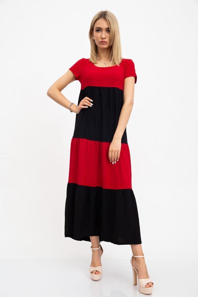 Платье 119R282 цвет Красно-черный