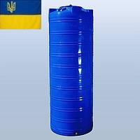 Емкость для воды 1000 литров пластиковая. Пластиковые бочки вертикальные двухслойные и однослойные. 1000 л.