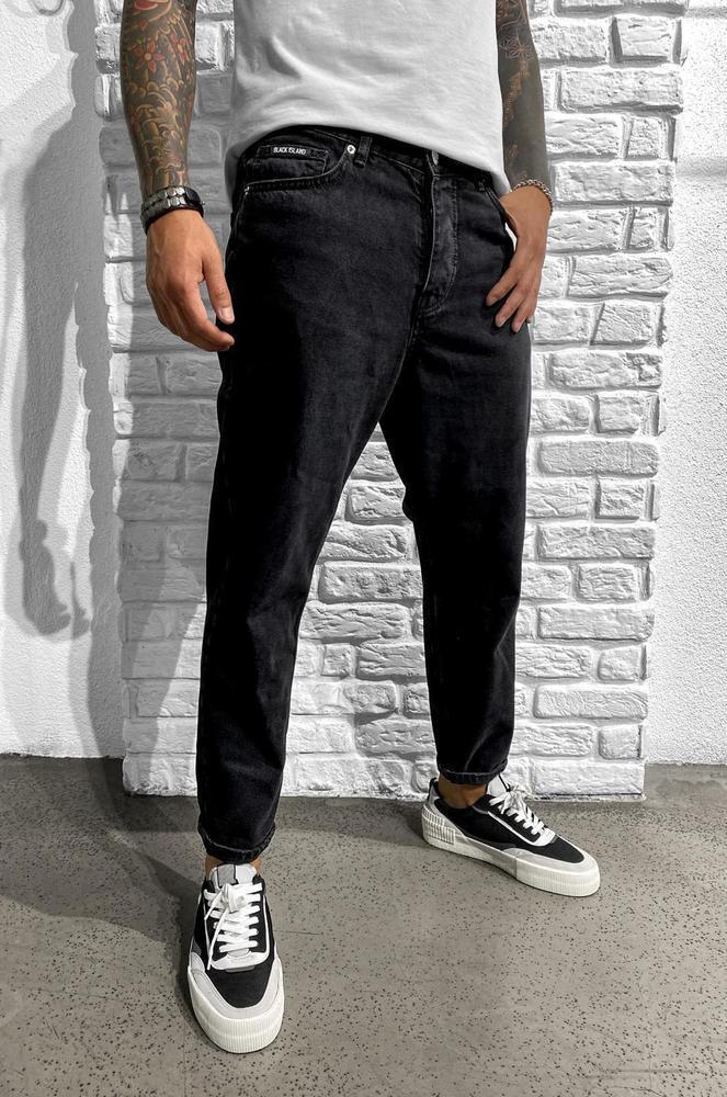 Мужские джинсы МОМ Black Island 5739-5740 antracit