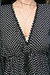 Платье черное в белый горошек oversize - 405-47, фото 6