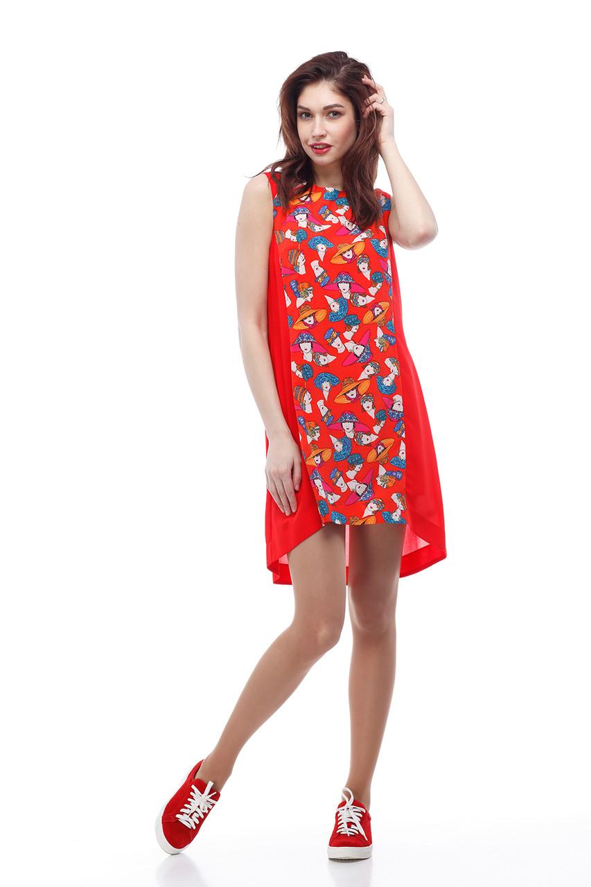 Женское платье ORIGA Габби 48 Темно-красный