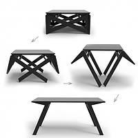 Деревянный стол-трансформер